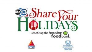 Share Your Holidays Food Drive 2020 @ Pearland Neighborhood Center